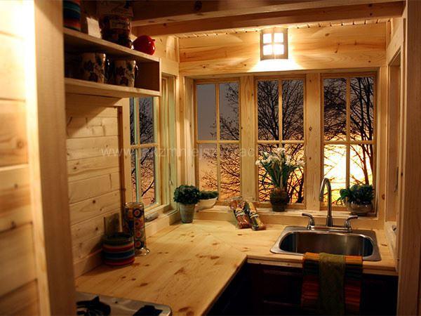 Cypress mini dom na k kach domy bez pozwolenia na budow for Kitchen ideas w2 5sh