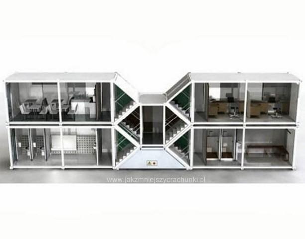 Projekt Z 4 Kontenerow on Modular Home Plans On A Hillside