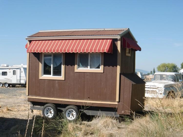 Mini domki na kółkach   Domy bez pozwolenia na budowę