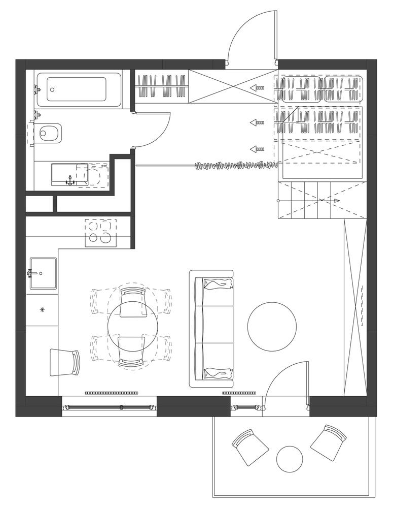 plan rzut małego domu_12