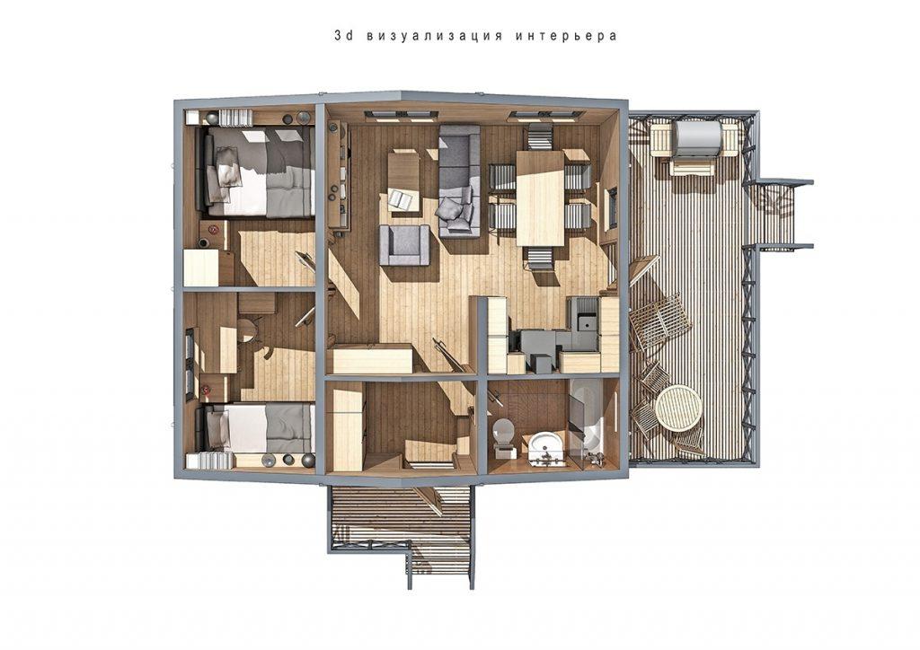 projekt domu parterowego_8